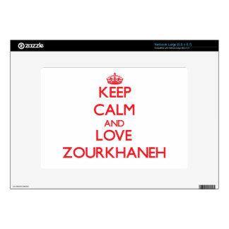 Keep calm and love Zourkhaneh Netbook Decal