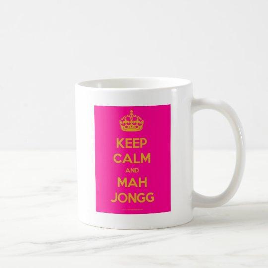 Keep-Calm-And-Mah-Jongg.pdf Coffee Mug