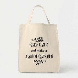Keep Calm and Make a Fairy Garden, Fairy Bag
