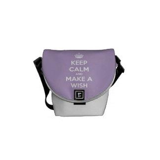 Keep Calm and Make A Wish Lavender Bag