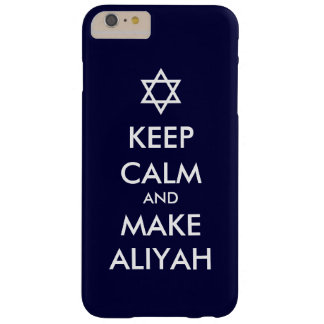 Keep Calm And Make Aliyah Barely There iPhone 6 Plus Case
