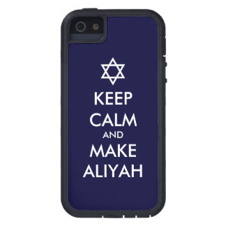 Keep Calm And Make Aliyah Case For iPhone SE/5/5s