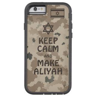 Keep Calm And Make Aliyah - Desert Tough Xtreme iPhone 6 Case