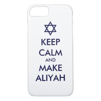 Keep Calm And Make Aliyah iPhone 7 Case