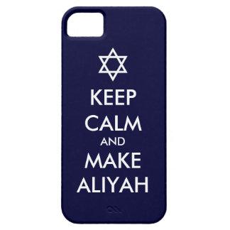 Keep Calm And Make Aliyah iPhone SE/5/5s Case