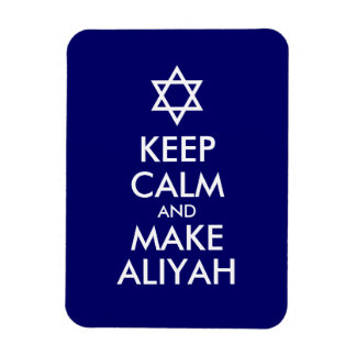 Keep Calm And Make Aliyah Magnet
