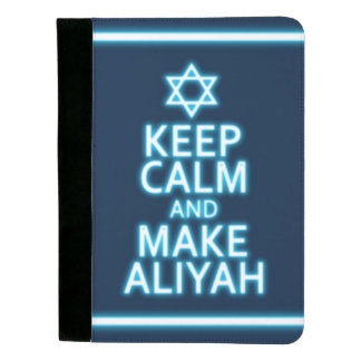 Keep Calm And Make Aliyah Padfolio