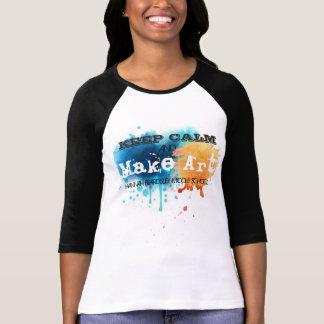 Keep Calm and Make Art at HBMS T-Shirt