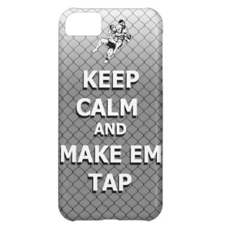 keep calm and make em tap cover for iPhone 5C