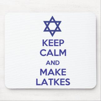 Keep Calm and Make Latkes Mouse Pad