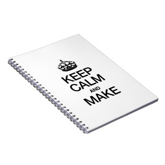 KEEP CALM AND MAKE NOTEBOOKS