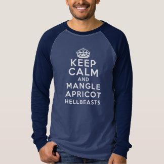 Keep Calm and Mangle Apricot Hellbeasts T-Shirt