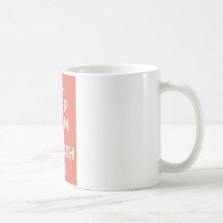 Keep Calm and Marathon Coffee Mug