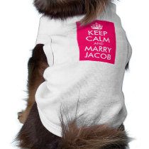Keep Calm and Marry Jacob T-Shirt
