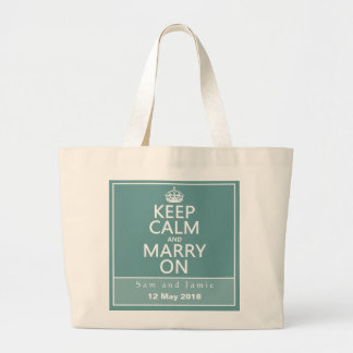 Keep Calm and Marry On Bag