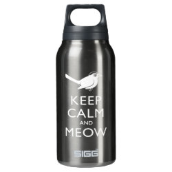 SIGG Thermo Bottle (0.5L) with Keep Calm and Meow design