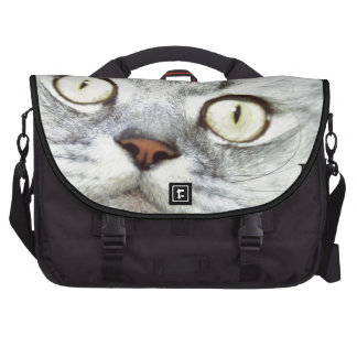 Keep Calm and Meow On Bags For Laptop