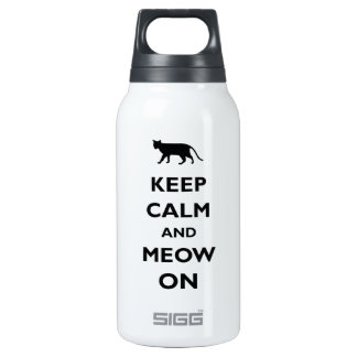 Keep Calm And Meow On SIGG Thermo 0.3L Insulated Bottle