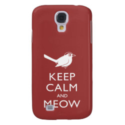 Case-Mate Barely There Samsung Galaxy S4 Case with Keep Calm and Meow design