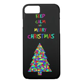 Keep calm and merry Christmas! iPhone 8/7 Case
