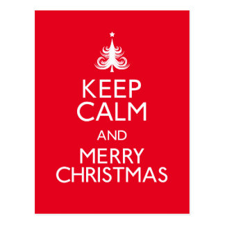 Keep Calm And Be Merry Gifts on Zazzle