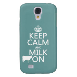 Case-Mate Barely There Samsung Galaxy S4 Case with Keep Calm and Milk On design