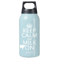SIGG Thermo Bottle (0.5L) with Keep Calm and Milk On design