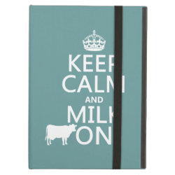 iPad Air Powis Case with Keep Calm and Milk On design