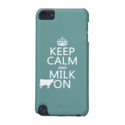 Case-Mate Barely There 5th Generation iPod Touch Case with Keep Calm and Milk On design