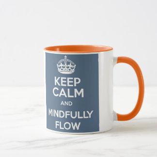 Keep Calm and Mindfully FLOW Coffee Mug