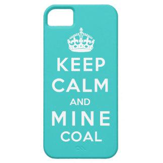 Keep Calm and Mine Coal iPhone SE/5/5s Case