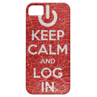KEEP CALM AND MINTIÓ EN iPhone 5 FUNDAS