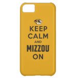 Keep Calm and Mizzou on - Black iPhone 5C Cases