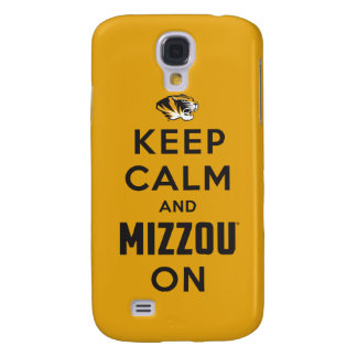Keep Calm and Mizzou on Samsung S4 Case