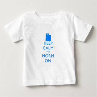 Keep Calm and Mormon Baby T-Shirt