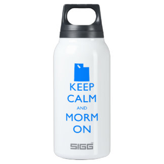 Keep Calm and Mormon Thermos Bottle