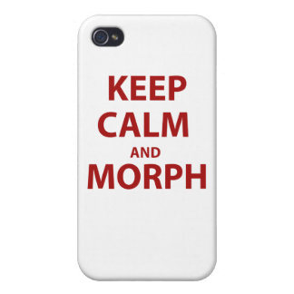 Keep Calm and Morph Cover For iPhone 4