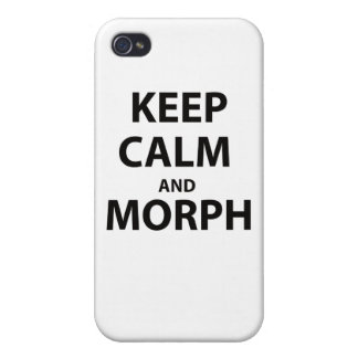 Keep Calm and Morph iPhone 4/4S Case