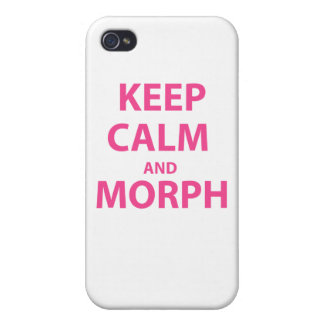 Keep Calm and Morph iPhone 4/4S Cover