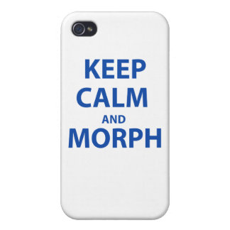 Keep Calm and Morph iPhone 4 Cases