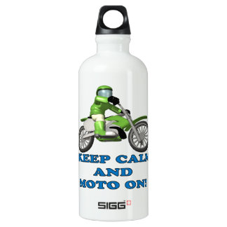 Keep Calm And Moto On SIGG Traveler 0.6L Water Bottle