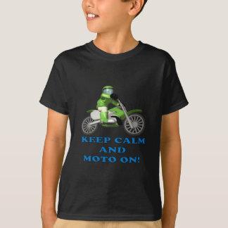 Keep Calm And Moto On T-Shirt