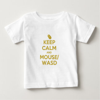 Keep Calm and Mouse WASD Baby T-Shirt