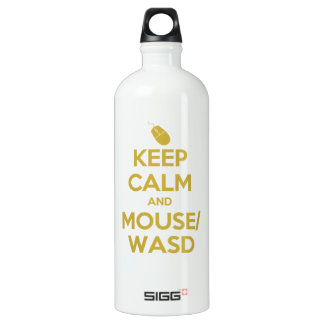 Keep Calm and Mouse WASD SIGG Traveler 1.0L Water Bottle