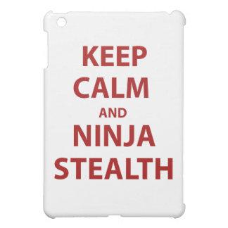 Keep Calm and Ninja Stealth Cover For The iPad Mini