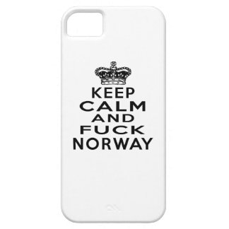 KEEP CALM AND NORWAY iPhone 5 COVERS