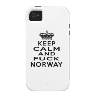 KEEP CALM AND NORWAY Case-Mate iPhone 4 COVER