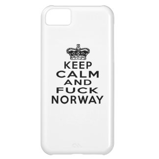 KEEP CALM AND NORWAY COVER FOR iPhone 5C