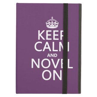 Keep Calm and Novel On iPad Air Cases