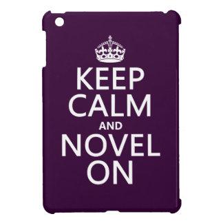 Keep Calm and Novel On Case For The iPad Mini